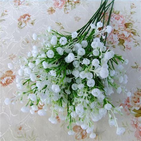 Pot Bunga Plastik 35cm 1 1 bouquet 5 forks white artificial plastic gypsophila