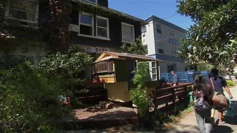 Cabins In Bay Area by Kqed Newsroom In The Bay Area Tiny Homes Grow In