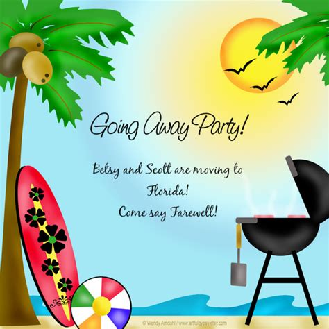 going away template betsy s going away invitations