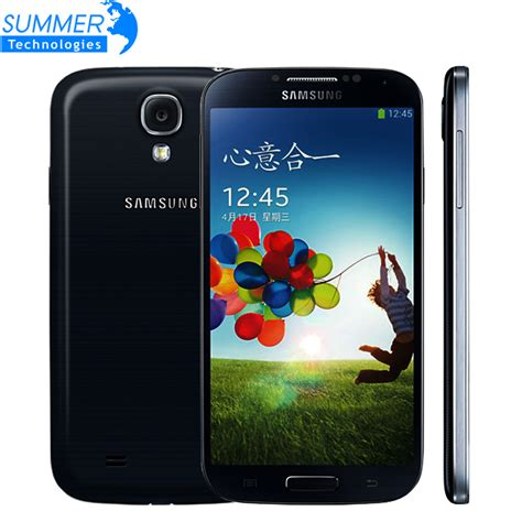 Samsung Galaxy S4 I9500 Black Ram2gbrom16gb original unlocked samsung galaxy s4 i9500 i9505 smartphone cell mobile phones 4g 5 0 2gb