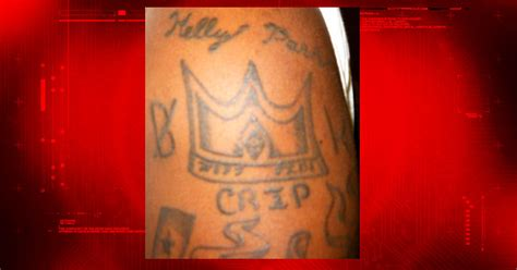 crip gang tattoos ink in the clink prison tattoos explained