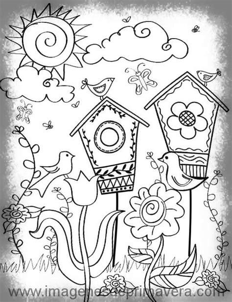 Imagenes Para Dibujar Faciles De La Primavera   convenientes y realistas dibujos de la primavera f 225 ciles