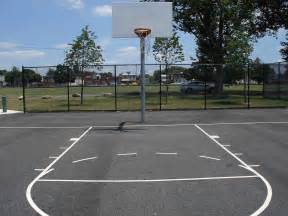 Backyard Basketball Court Dimensions Basketball Court