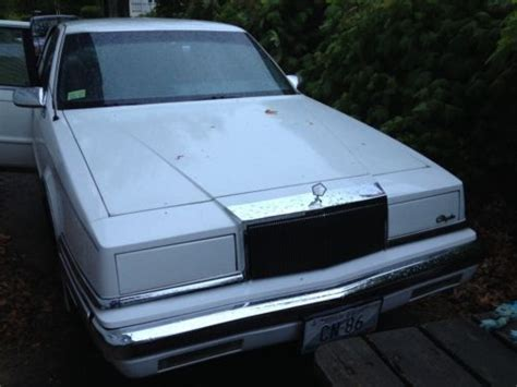1989 chrysler new yorker 5th purchase used 1989 chrysler new yorker fifth avenue