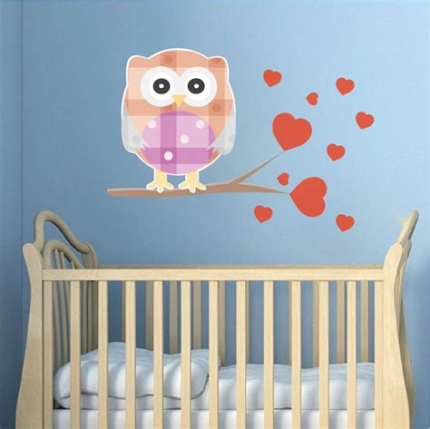 owl wall mural owl wall decal nursery wall decal murals primedecals