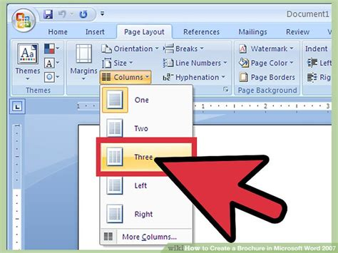how to make tuition pamphlets in microsoft word ehow
