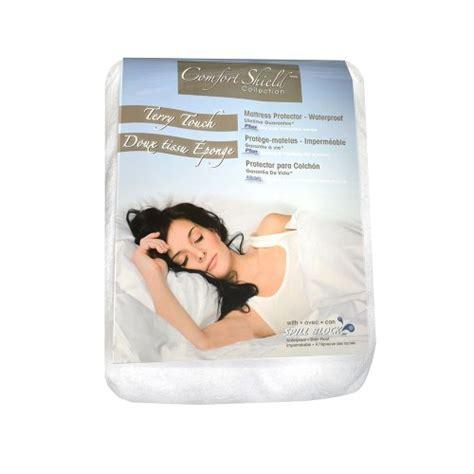 comfort shield anti allergen bed bug proof terry