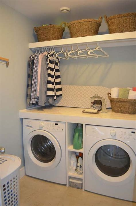 Laundry Hers For Small Spaces 60 Amazingly Inspiring Small Laundry Room Design Ideas Design Washers And Laundry Room Design