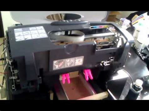 Printer Dtg Epson R230 Flat Bed Dtg Printer A4 Epson Stylus R230 Print On Fabric