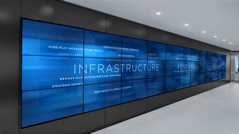 video wall layout brookfield place media wall union design p g windows