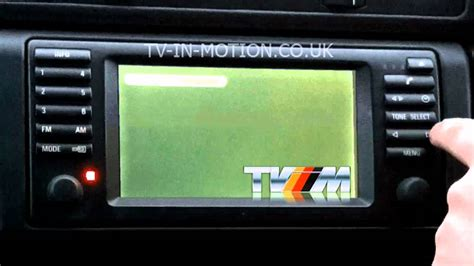 Max Bmw Ct by Bmw Digital Tv Conversion Oem Controlled From Headunit