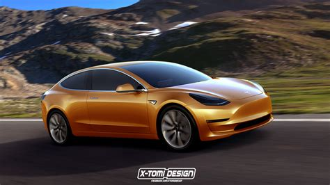 tesla model 3 becomes sportier in coupe version