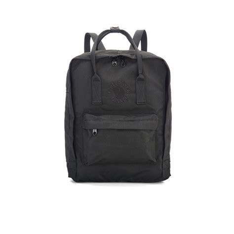 Fjallraven Re Kanken fjallraven re kanken backpack black mens accessories