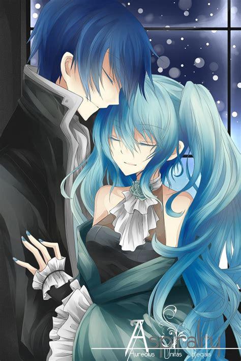Cauple Ovj Salma Blue 1 100 best kaito x miku images on kaito shion anime couples and vocaloid kaito