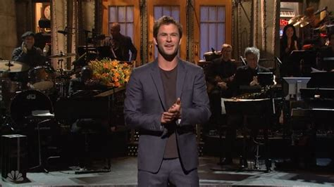 3 Sketches Snl by Chris Hemsworth On Snl 3 Sketches You To See