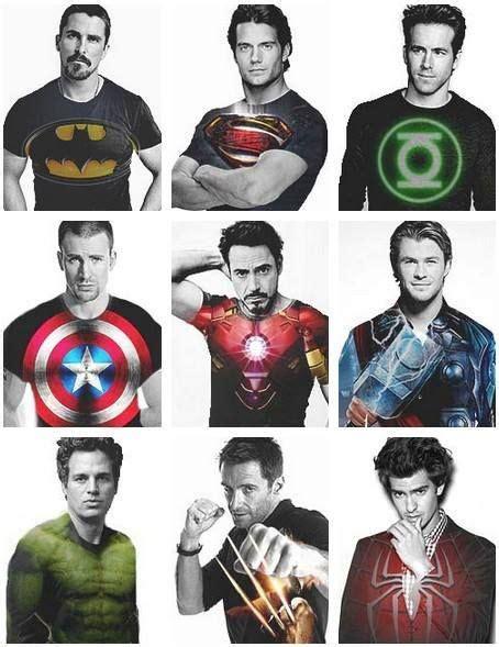Captain Americahulksupermanbatmanironmanthor Batman Superman Green Lantern Captain America Iron