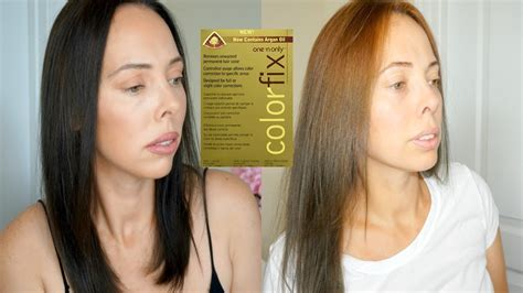 one n only color fix one n only colorfix hair color remover how to remove