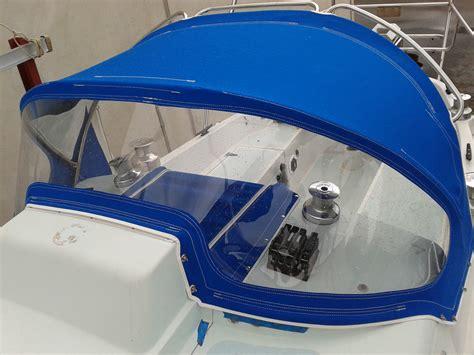 boat upholstery perth dodger pacific blue sunbrella prestige marine trimmers