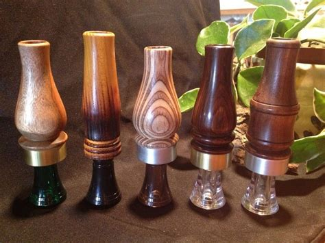 Handmade Duck Calls - custom made duck calls by turned wood creations