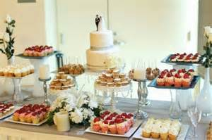 Cake And Buffet Table Wedding Table Decorating Cool Decoration Ideas For