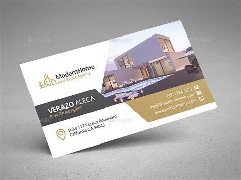 real estate business card  verazo graphicriver