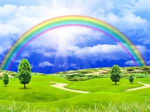 Landscape Rainbow Pictures Landscape With Rainbow Wallpaper And Background