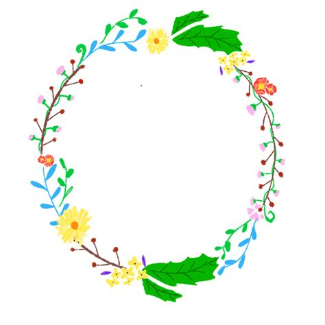 flowers wreath floral free image on pixabay free illustration wreath corolla floral plants free