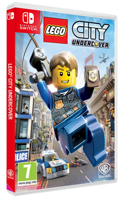 Promo Switch Lego City Undercover trailer lego city undercover est disponible sur nintendo switch adam et ender