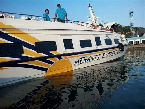 fast boat express meranti express fast boat fast boat ke gili