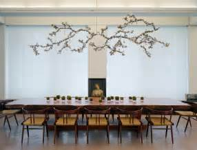 Dining Room Sets Modern Style branch chandelier dining room modern with bird decor