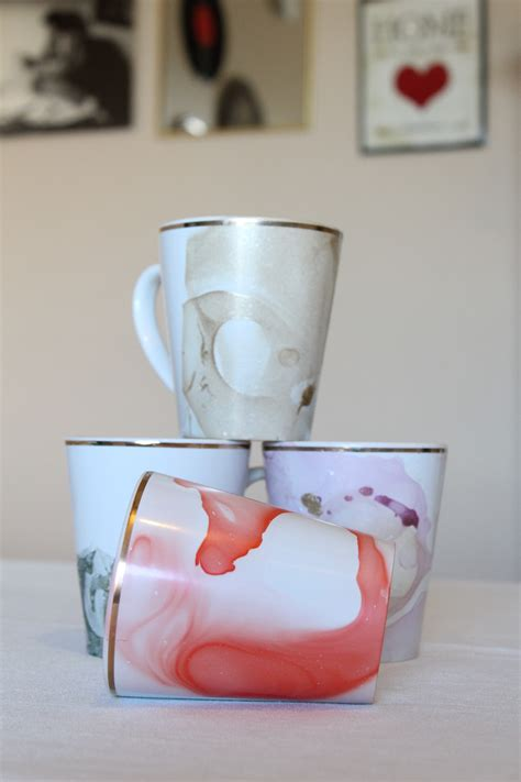 mug design using nail polish diy marbled mugs with nail polish my fair olinda