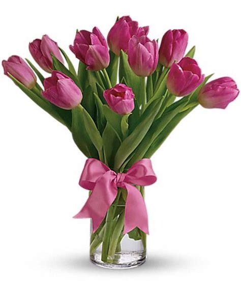 La Tulip Precious precious pink tulips t11z106a flower delivery by florist