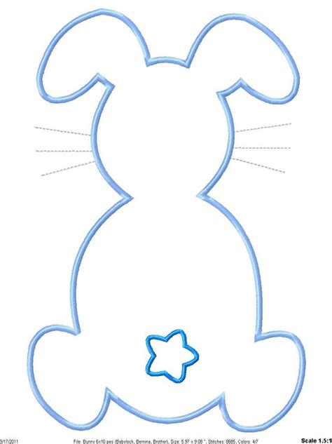 bunny garland template 17 best images about easter templates on