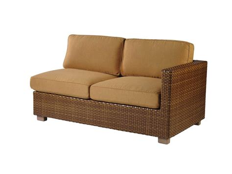 replacement cushions for loveseat whitecraft sedona all weather rafacing loveseat sectional