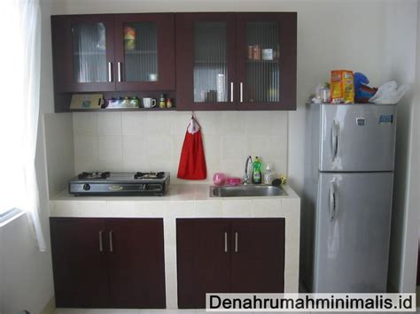 membuat desain dapur minimalis tipe  renovasi rumah
