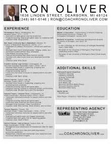 Career Coach Resume Sle by Professional Soccer Coaching Resume Sales Coach Lewesmr