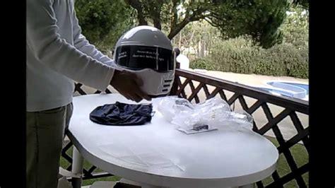 motorcycle hits deer 85 mph helmet cam white bandit helmet capacete bandit branco m 57cm