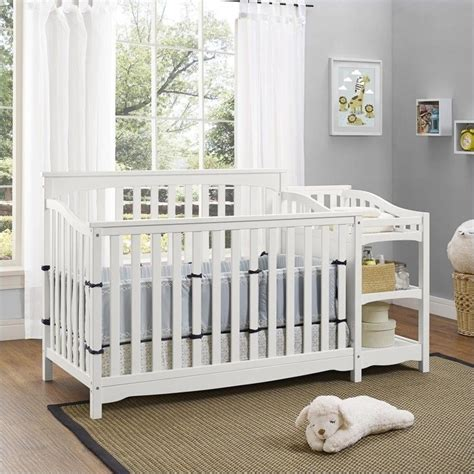 baby crib and changer combo baby relax bailey crib and changer combo in white da6788w