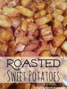 roasted sweet potatoes recipe so easy and delicious