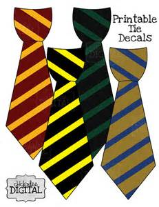 Harry Potter Tie Template by 4 Wizard Stripes Printable Diy Iron On Tie By Chickadeedigital