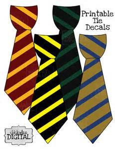harry potter tie template 4 wizard stripes printable diy iron on tie by chickadeedigital