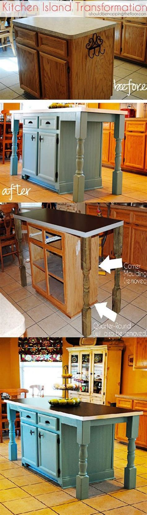 kitchen island ideas diy 23 best diy kitchen island ideas and designs for 2017