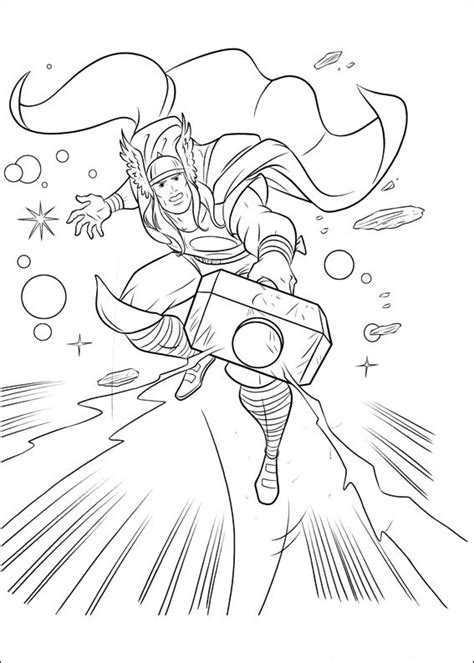 thor coloring pages online free printable thor coloring pages for kids