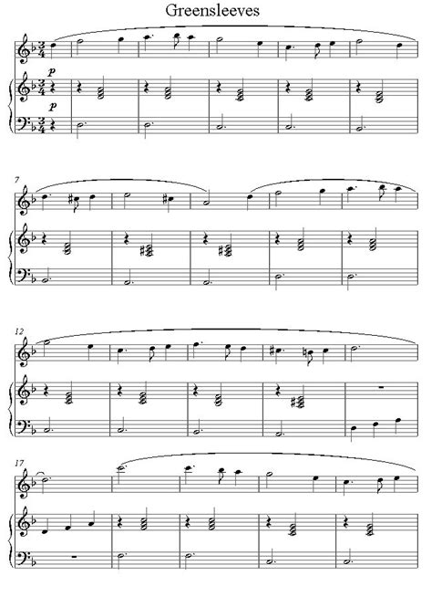 tutorial piano greensleeves 84 best flute music images on pinterest