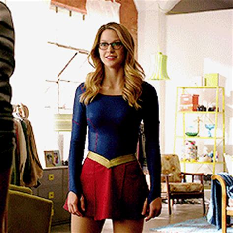 Blouse Big Kara deconstructing supergirl episode 1 series premiere slip through entertainment you don t