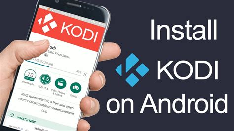 kodi on android phone how to install kodi with exodus on your android phone droidcommando
