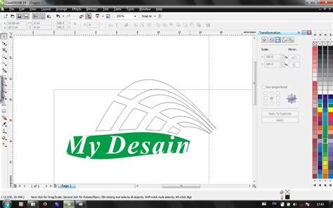 tutorial corel draw x4 membuat logo tutorial membuat logo menggunakan coreldraw x4 12 000