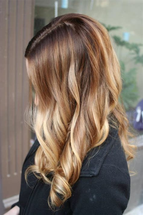 Where To Place Foils For Ombre | highlighting hair trends foils ombre balayage