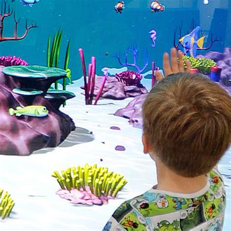aquarium design centre glasgow interactive design portfolio interactive av software for