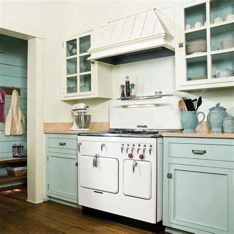 Painted Old Kitchen Cabinets | painted kitchen cabinets home decorating ideas